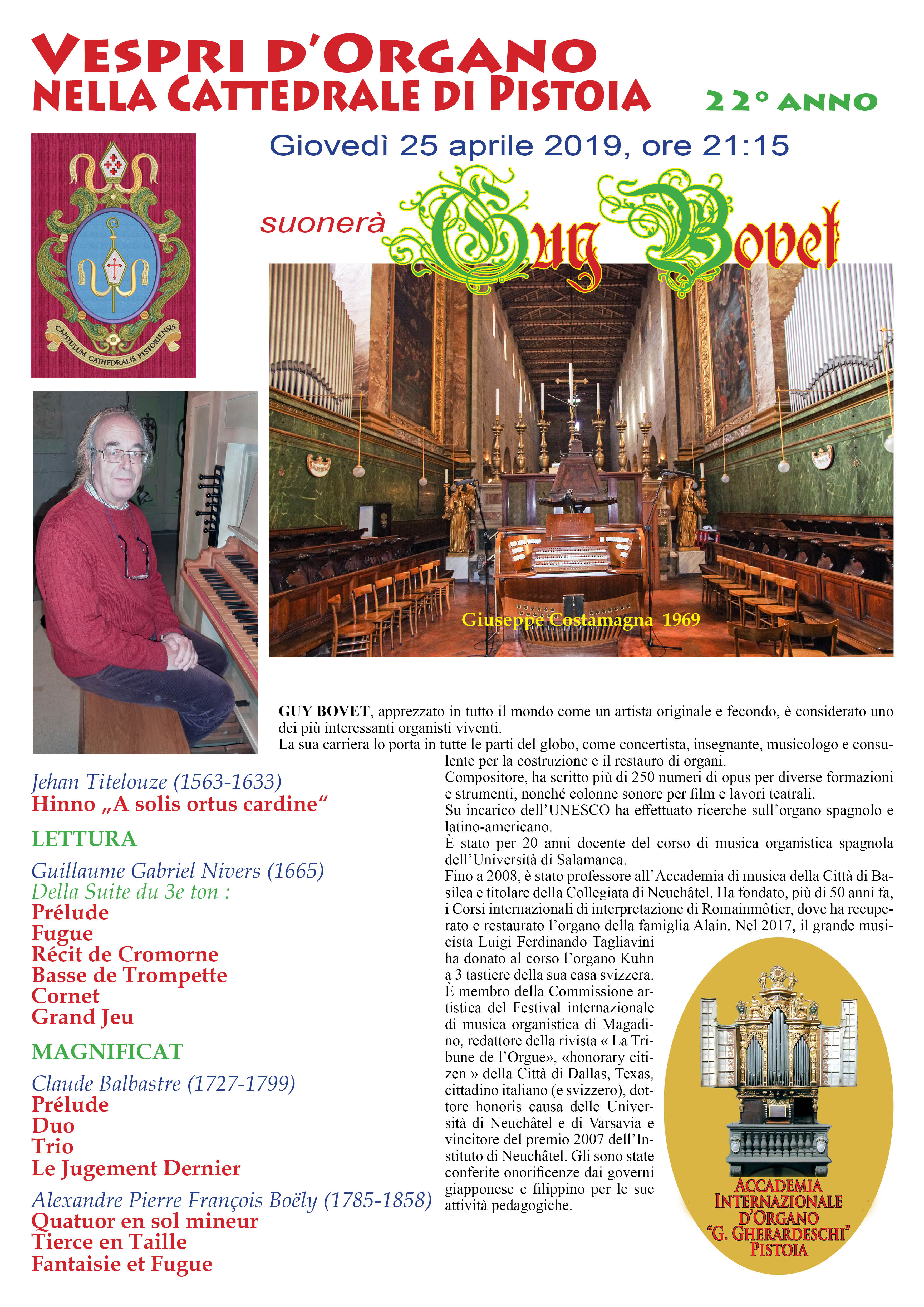 Vespro d'Organo @ Cattedrale di San Zeno