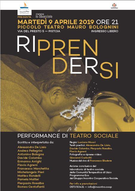 Riprendersi - Performance di Teatro Sociale @ Piccolo Teatro Bolognini