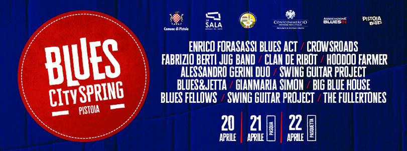 Blues city spring Pistoia @ Centro Storico