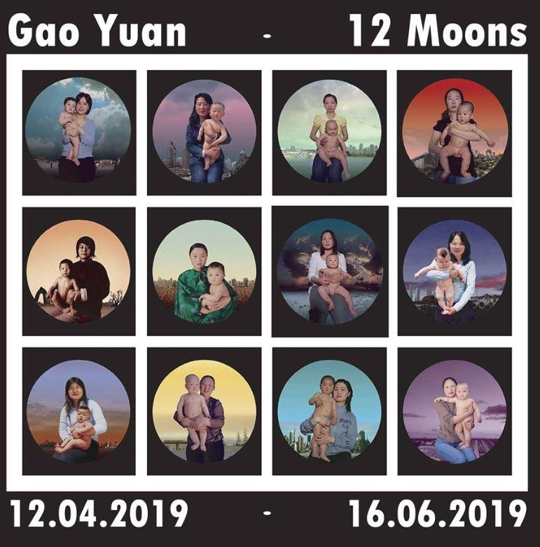 Gao Yuan, 12 Moons - Inaugurazione mostra @ Museo Marino Marini