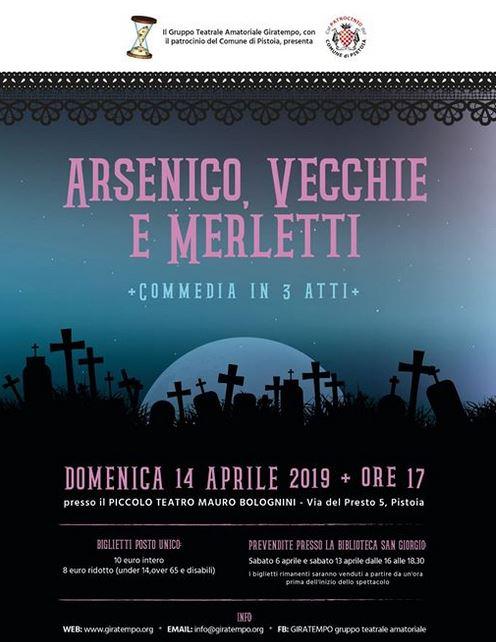 Arsenico, vecchie e merletti @ Piccolo Teatro Bolognini
