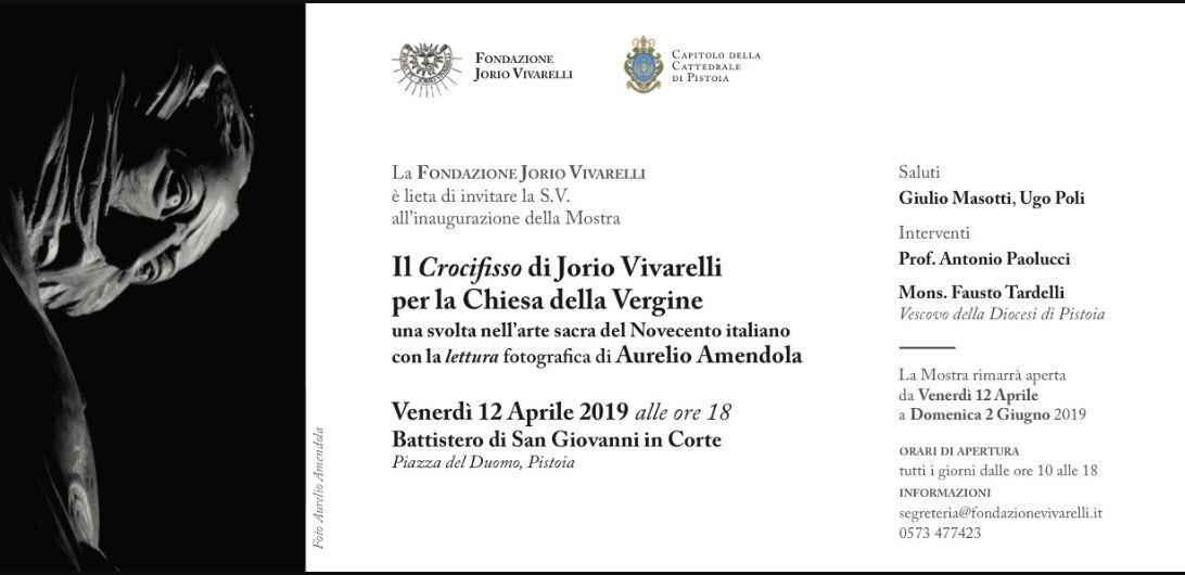 Il Crocifisso di Jorio Vivarelli per la chiesa della Vergine @ Battistero di San Giovanni in Corte