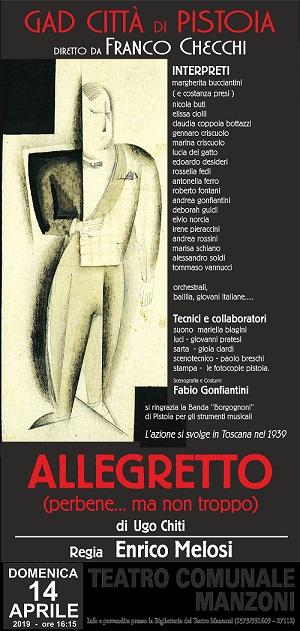Allegretto (perbene... ma non troppo) @ Teatro Manzoni