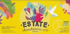 Estate chiaccherina @ Fondazione Pistoiese Jorio Vivarelli