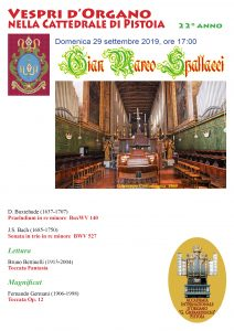 Vespro d'organo @ Cattedrale