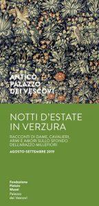 Notti d'estate in verzura @ Antico Palazzo dei Vescovi
