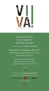 """Inaugurazione mostra """"VIVA! Abstracta Vitae"""" @ Sale affrescate del Palazzo comunale"""