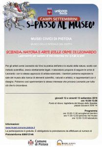 Campus settembrini per bambini ai Musei Civici @ Museo dello Spedale del Ceppo