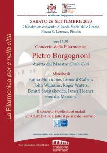 Concerto Filarmonica Borgognoni @ Ex Convento di Santa Maria delle Grazie