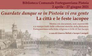 Pistoia Anno Iacobeo - Inaugurazione mostra @ Evento online