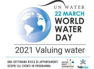 Giornata mondiale dell'Acqua 2021 - I suoni dell'acqua @ Evento online