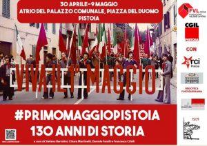 #primomaggiopistoia. 130 anni di storia @ Atrio del Palazzo Comunale e online
