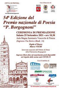 Premiazione Premio nazionale di poesia P. Borgognoni @ Aula Magna Seminario Vescovile