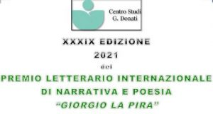 """Premio letterario internazionale """"Giorgio La Pira"""""""