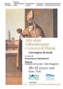 Convegno di studi | Atto, abate vallombrosano e vescovo di Pistoia. @ Evento online