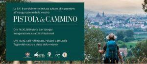 Inaugurazione mostra | Pistoia in Cammino @ Sale Affrescate del Palazzo comunale