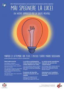 Convegno dedicato al benessere psichico | Proiezione docufilm @ Piccolo Teatro Mauro Bolognini